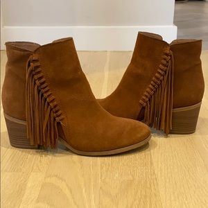 Reaction by Kenneth Cole tassel booties